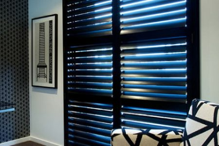 Timber Shutters Newcastle installed by Pazazz Blinds & Shutters